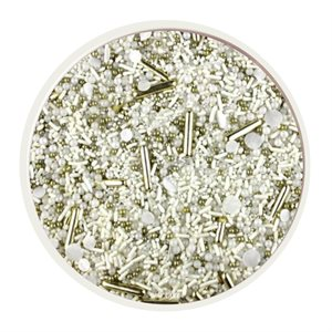 Wedding White Sprinkle Mix 4 Oz