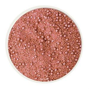 Rose Gold Sprinkle Mix 4 Oz