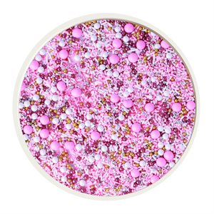Pink Velvet Sprinkle Mix 4 Oz
