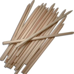 7 Inch Wooden Candy Apple Sticks Pack of 50