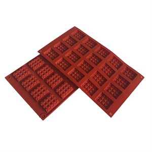 Silicone Baking Mold-Mini Waffle Square Shape