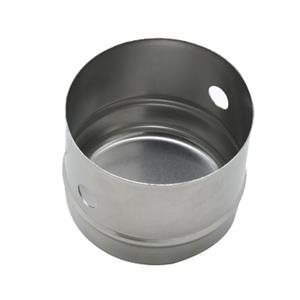 3 Inch x 2 1 / 2 Inch Round Cookie Biscuit Cutter Stainless Steel