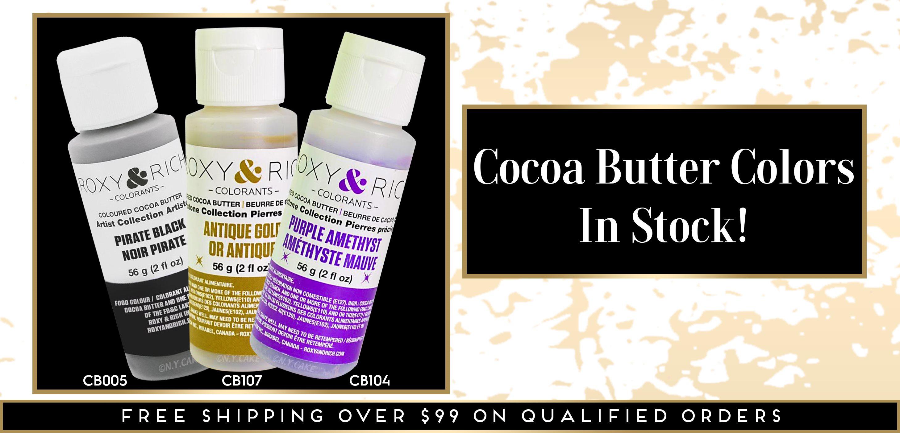 Colored Cocoa Butter Roxy Rich