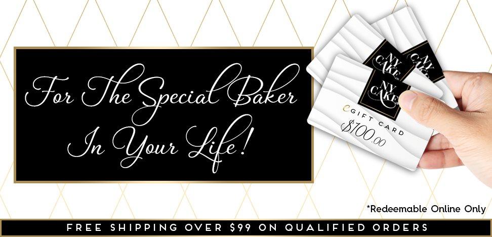 NY Cake Gift Card Baking Supplies