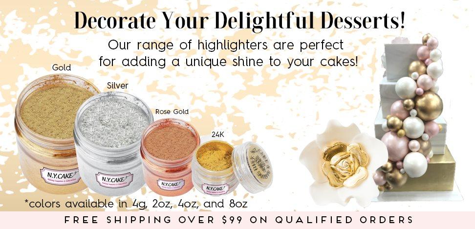 Gold Silver Highlighter