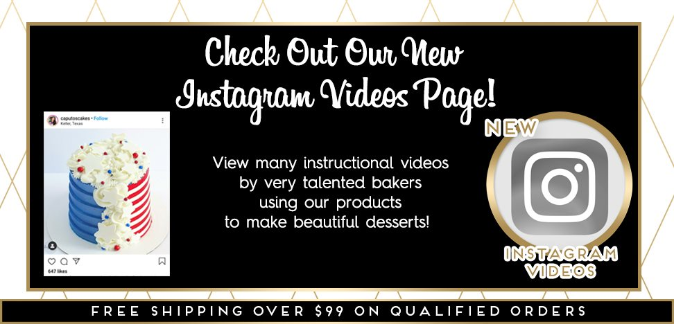 Instagram Videos NY Cake Products Tutorials