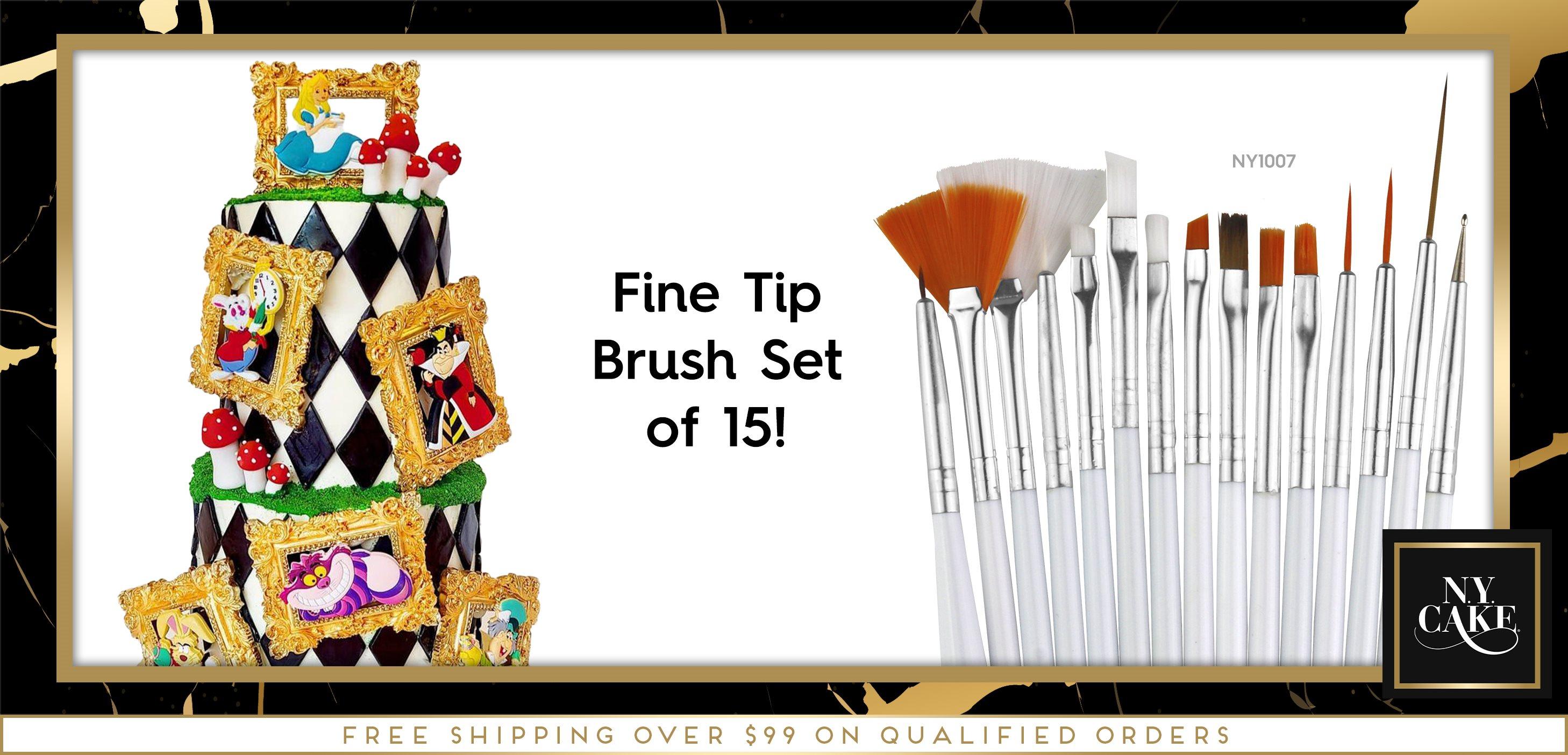 Fine Tip Brush Set